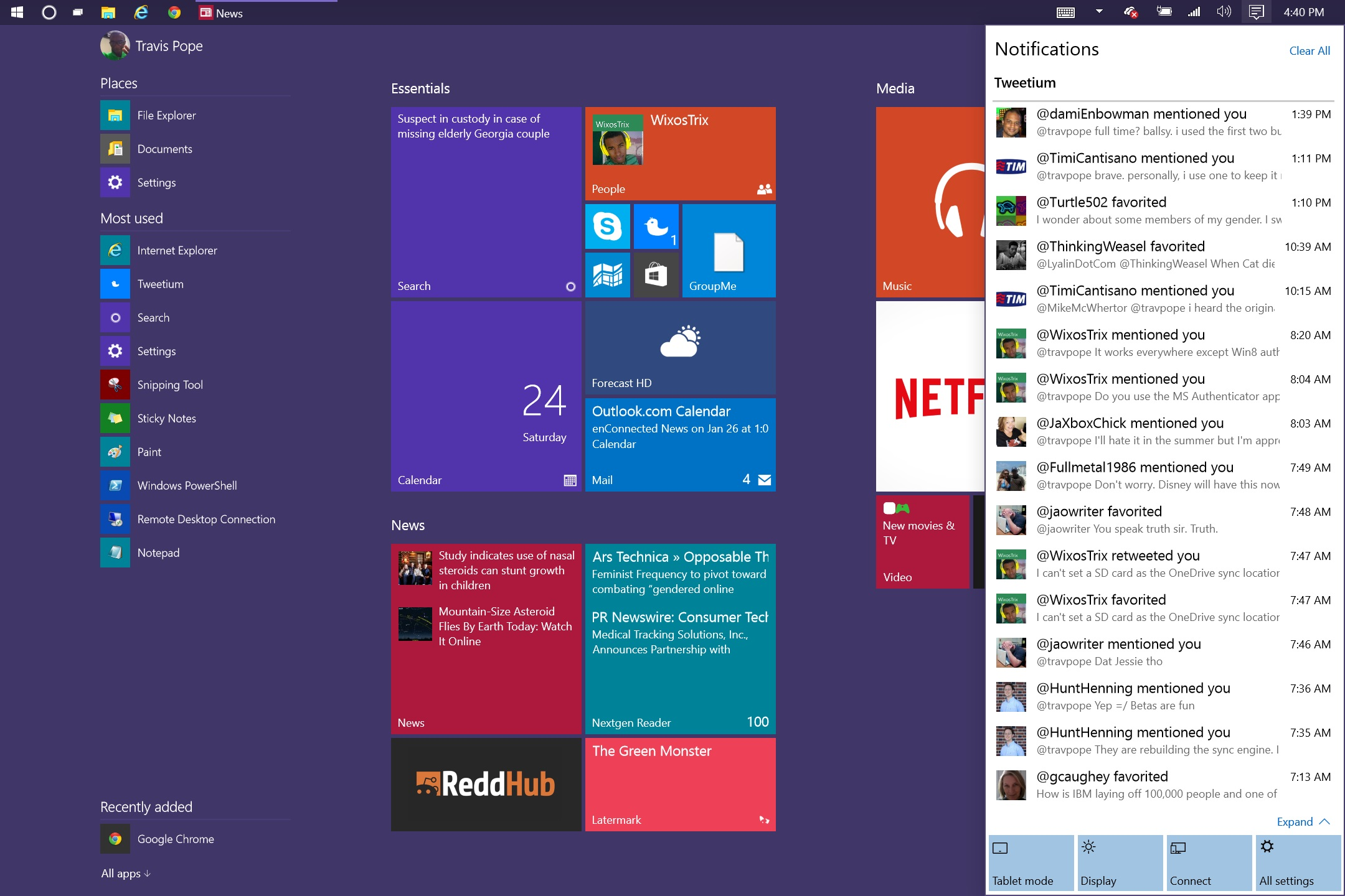 How to Use Windows 10 Action Center